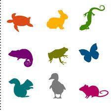 dieren silhouetten - Google zoeken