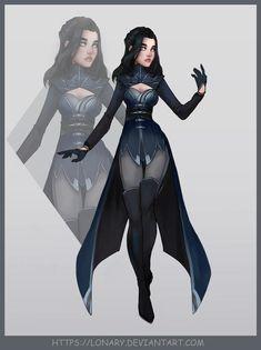 Design by Lonary on DeviantArt Superhero Costumes Female, Superhero Suits, Superhero Design, Foto Fantasy, Fantasy Dress, Super Hero Outfits, Super Hero Costumes, Warrior Outfit, Anime Dress