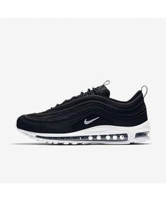 best service 598c2 708ba Nike Air Max 97 Noir Black Nike Shoes, Air Max Nike Shoes, Girls Nike