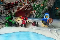 Remote Control Cars and Boy Minifig  (Lego Advent Calendar 2015 Day 1 + 2)