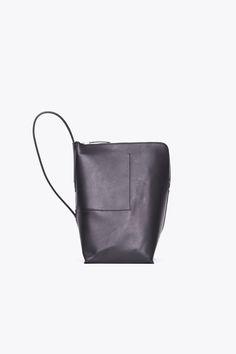 MINIMAL + CLASSIC: Rick Owens Bucket Bag (Black)
