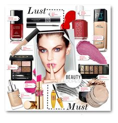 """""""#Beauty Dupes - Lust V's Must"""" by nikkisg ❤ liked on Polyvore featuring beauty, Maybelline, L'Oréal Paris, NARS Cosmetics, Essie, Bobbi Brown Cosmetics, Christian Dior, Revlon, Boohoo and Gucci"""