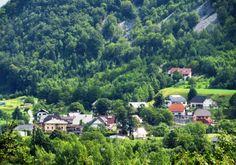 City of Log Cezsoski, Bovec, Slovenia