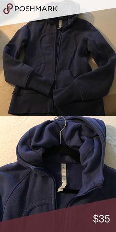 Lululemon hoodie Lululemon hoodie. A few years old. Worn about 8 times. Great shape. Very comfortable. Blue/ purple color lululemon athletica Sweaters