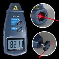 Unser 2-in 1 digitaler Laser-Drehzahlmesser TMT-6236B ist ein vollkommen neu entwickeltes Gerät in Profiqualität. Shops, Cooking Timer, Digital, Ultrasound, Numbers, Tents, Retail Stores