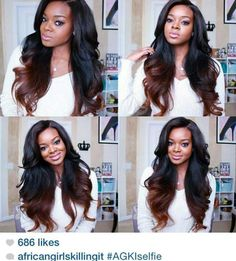 Cheap wigs for gray hair, Buy Quality wig importer directly from China wig chignon Suppliers: Ombre Human Hair Full Lace Wigs Raw Indian Remy Hair Two Tone Ombre Colored Glueless Lace Front Human Hair Wigs For Black Women Love Hair, Gorgeous Hair, Beautiful, Remy Hair, Hair Dos, Weave Hairstyles, Pretty Hairstyles, Ombre Hair At Home, Short Hair Styles