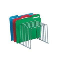 Office Depot® Brand Wire File And Binder Organizer, Chrome