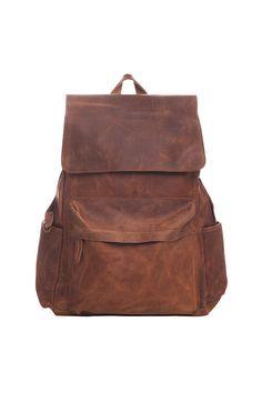 Urban Bags, Leather Backpack, Chelsea, Laptop, Backpacks, Brown, Vintage, Fashion, Moda