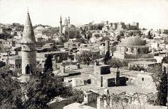 Rhodes, Panorama Old City, 1958 Old City, Paris Skyline, Porsche, Archive, History, Travel, Rhodes, Historia, Viajes