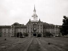 Abandoned Trans-Allegheny Lunatic Asylum/ Weston State Hospital, Weston, West Virginia USA