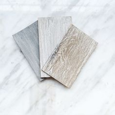 A trio of different finishes you can achieve with Amy Howard At Home waxes. Click through to find Light Wax, Dark Wax, Cerusing Wax, Liming Wax, Clear Wax, and squeezable Mind Your Own Beeswax!
