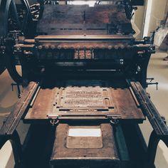 Atelier-musée de l'imprimerie & de la typographie COLOPHON / L'oeil de Sweet Pea #sweetpea #sweetpeaagency #paris #print #colophon