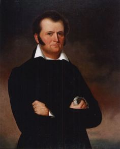 Jim Bowie ... died at the Alamo, March 6, 1836