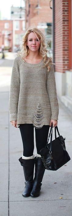 Sweater Fever  Fashionably Kay- I love this sweater...it's so different...