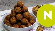 Egy szuper videós recept a nosaltytól #vegán #gluténmentes #recept #magyarul #köles #video #fasírt Vegan Foods, Falafel, Healthy Recipes, Healthy Food, Meat, Ethnic Recipes, Bulgur, Health Recipes, Health Foods