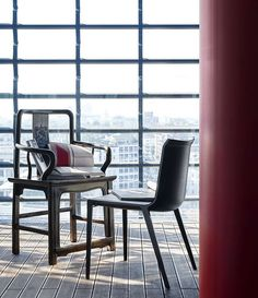 Chair Charlotte -B&B Italia - Design by Antonio Citterio