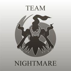 #TeamNightmare #PokémonGo #Darkrai