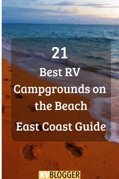 Check out these RV oceanfront parks for RV Beach Camping! This camping on the beach travel guide features RV oceanfront and beach campgrounds! Click, Save or Send to explore the beauty of oceanfront camping #rvblogger #rvliving #rvlifestyle #rvtravel #rvideas #camping #campingtipsandideas #oceanview #ocean #oceanlife #beachvacation