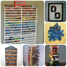 16 Brilliant Ways To Store Toy Cars