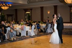 First dance as husband and wife. Wedding bliss, taken by Lily Angiolini of Miss Lily Photography at The Great Hall in Midland Michigan.