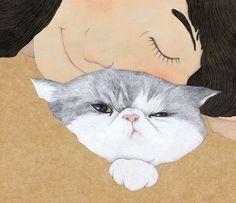 El meu gat / Mi gato / My cat
