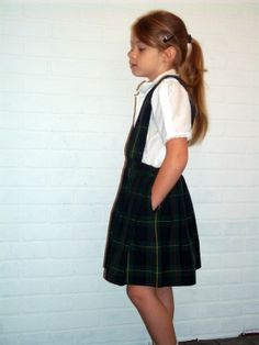 Vintage school uniform # 4