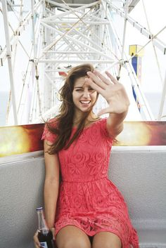 This is an awesome photograph. Lets take pictures on ferris wheels.