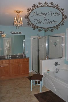 #DIY #Decorating With The Nester: How making a couple of easy changes created a room I love!