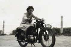 women and motorcycles photos | Cool Girls on Motorcycles, Vintage Photo Contest « The Sartorialist