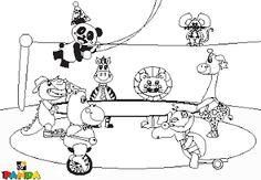 Canal Panda Blog: Desenho do Panda para Pintar