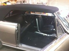 Installing seats and SS console