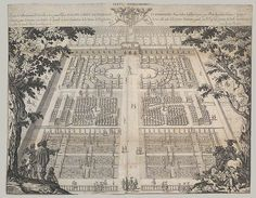 Written and designed by Isaac de Caus; Etched by Peter Stent: Wilton Garden (plate 1) (27.66.2) | Heilbrunn Timeline of Art History | The Metropolitan Museum of Art