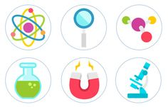 Mad Scientist Science Party Edible Cupcake Topper Decorations - Set of 12 Toppers