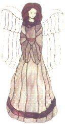 STANDING ANGEL WITH HIDDEN HANDS