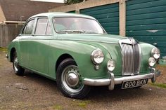 MG MAGNETTE ZB (1957) Classic Cars British, Old Classic Cars, Vintage Cars, Antique Cars, Mg Cars, Banana Plants, Car Manufacturers, Car Car, Exotic Cars