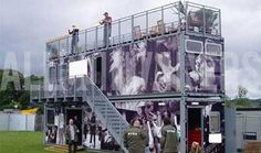 Image result for shipping container stage