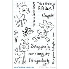 Your Next Stamp Clear Stamps - Oh, Deer