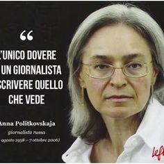 ANNA POLITKOVSKAJA: una donna non rieducabile.