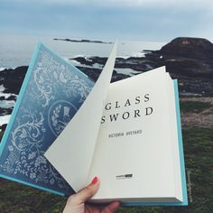My copy of Glass Sword finally arrived in the mail today! Loving how gorgeous this book is, both inside and out!