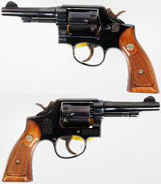 Smith & Wesson S 10-5 .38 Spl 4 Blue Revolver Near For Sale at GunAuction.com