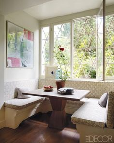 Kitchen sofa bench and dining table
