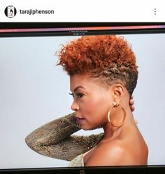 Taraji's new cut and color is everything!