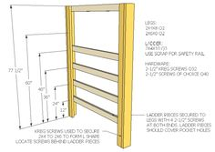 How To Build A Full Size Loft Bed - Jays Custom Creations