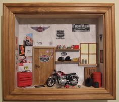 Cheap Hobbies For Men Cheap Hobbies, Hobbies For Men, Garage Tools, Garage Workshop, Hot Wheels Display, Shadow Box, Wall Decor, Diy Crafts, Inspiration