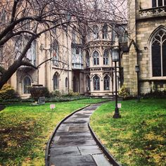 Church in New York (near Webster Hall)