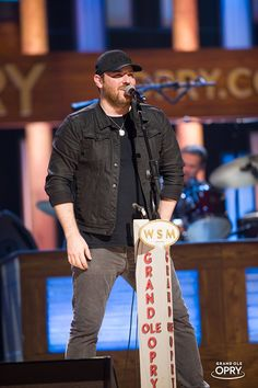 Chris Young at Grand Opry