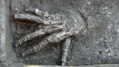 Archaeologists discover severed hands in Egyptian palace ruins. A team of archaeologists unearthed the 3600 year-old bones of 16 severed hands from four pits within what is believed to be a royal Hyksos compound. Austrian archaeologist Manfred Bietak, who is leading the excavations in the ancient city of Avaris, told the journal Egyptian Archaeology that the severed hands appeared to be the first evidence to support tales in ancient Egyptian writings and art of soldiers cutting off right…
