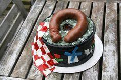 Mooiste taart van Overijssel: de Boerenkooltaart. Gemaakt door Jolien Drost