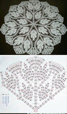 Large crochet doily—Large doily—Home decor—olive orange crochet tablecloth-white doily-Mother's Day—Handmade tablecloth Free Crochet Doily Patterns, Crochet Doily Diagram, Crochet Motifs, Crochet Chart, Thread Crochet, Knitting Patterns, Filet Crochet, Crochet Home, Diy Crochet
