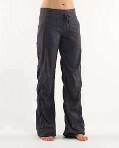 lulu lemon studio pants - would love a pair of these!